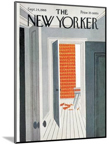The New Yorker Cover - September 24, 1966-Charles E. Martin-Mounted Premium Giclee Print