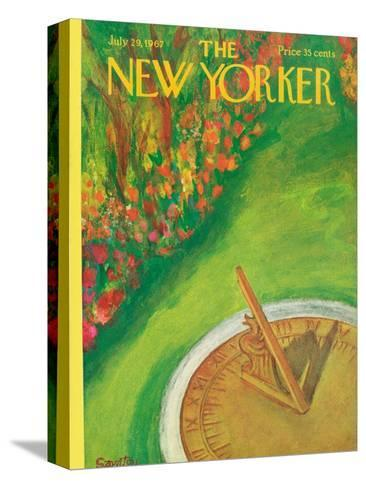 The New Yorker Cover - July 29, 1967-Beatrice Szanton-Stretched Canvas Print