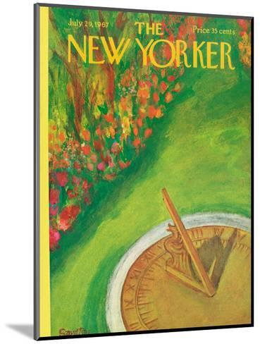 The New Yorker Cover - July 29, 1967-Beatrice Szanton-Mounted Premium Giclee Print