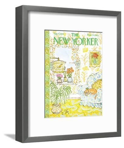 The New Yorker Cover - May 11, 1968-William Steig-Framed Art Print