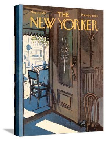 The New Yorker Cover - May 17, 1969-Arthur Getz-Stretched Canvas Print