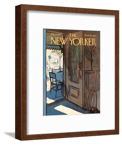 The New Yorker Cover - May 17, 1969-Arthur Getz-Framed Art Print