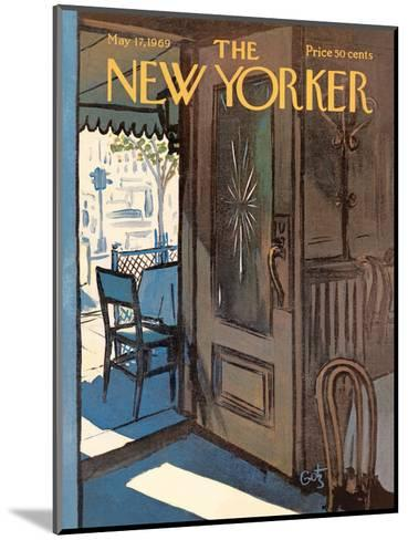 The New Yorker Cover - May 17, 1969-Arthur Getz-Mounted Premium Giclee Print