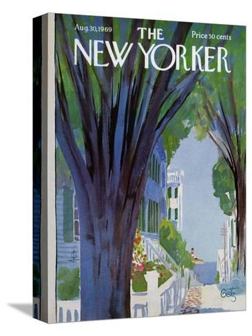 The New Yorker Cover - August 30, 1969-Arthur Getz-Stretched Canvas Print