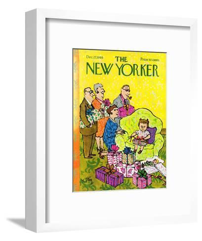 The New Yorker Cover - December 27, 1969-William Steig-Framed Art Print