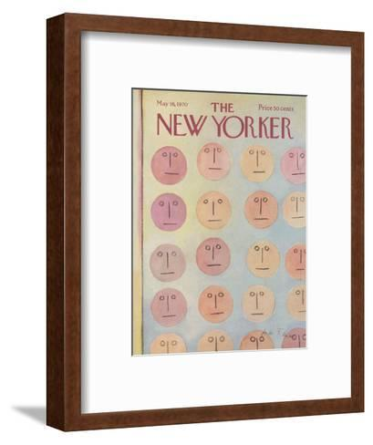 The New Yorker Cover - May 16, 1970-Andre Francois-Framed Art Print
