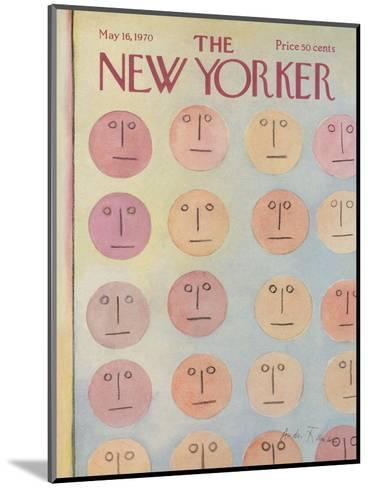 The New Yorker Cover - May 16, 1970-Andre Francois-Mounted Premium Giclee Print
