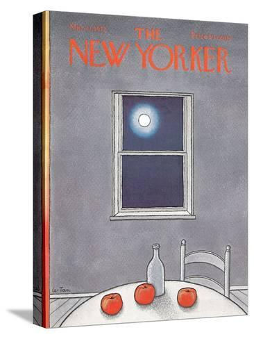 The New Yorker Cover - March 11, 1972-Pierre LeTan-Stretched Canvas Print