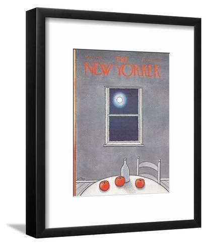 The New Yorker Cover - March 11, 1972-Pierre LeTan-Framed Art Print
