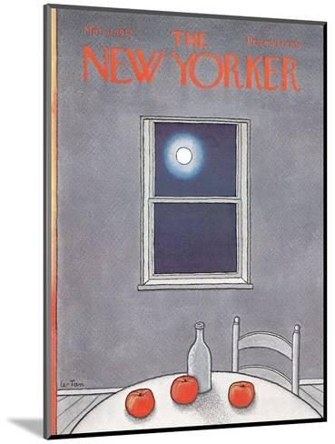 The New Yorker Cover - March 11, 1972-Pierre LeTan-Mounted Premium Giclee Print