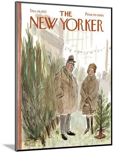 The New Yorker Cover - December 16, 1972-Frank Modell-Mounted Premium Giclee Print