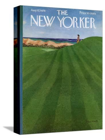 The New Yorker Cover - August 12, 1974-Albert Hubbell-Stretched Canvas Print