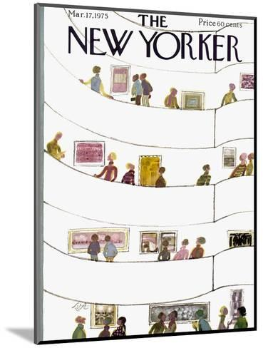 The New Yorker Cover - March 17, 1975-Laura Jean Allen-Mounted Premium Giclee Print