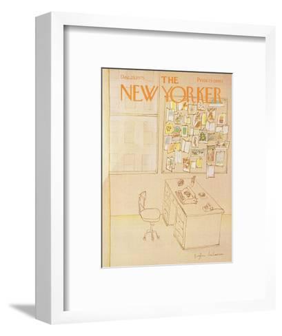The New Yorker Cover - December 29, 1975-Eug?ne Mihaesco-Framed Art Print