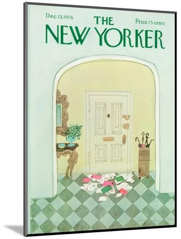 The New Yorker Cover - December 13, 1976-Laura Jean Allen-Mounted Premium Giclee Print