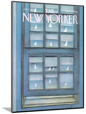 The New Yorker Cover - July 11, 1977-Andre Francois-Mounted Premium Giclee Print