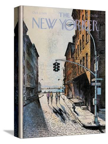 The New Yorker Cover - October 2, 1978-Arthur Getz-Stretched Canvas Print