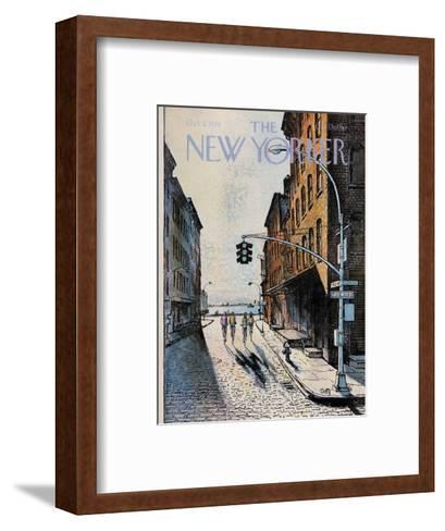 The New Yorker Cover - October 2, 1978-Arthur Getz-Framed Art Print