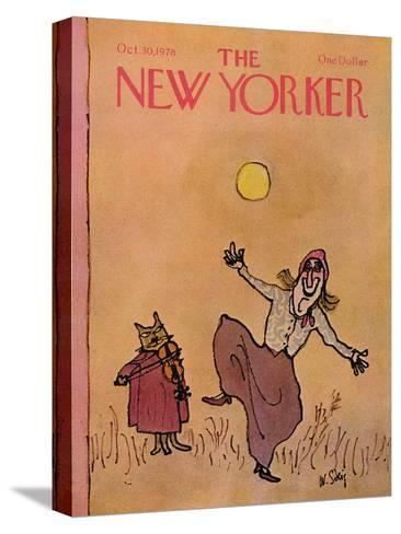 The New Yorker Cover - October 30, 1978-William Steig-Stretched Canvas Print