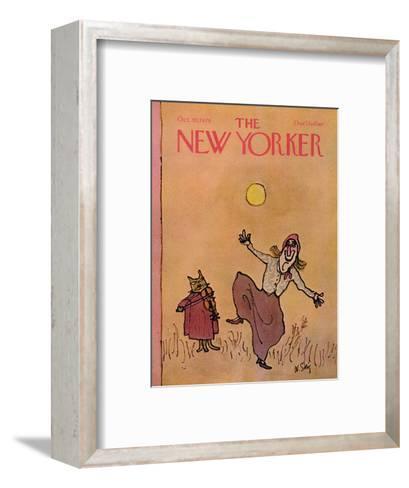 The New Yorker Cover - October 30, 1978-William Steig-Framed Art Print