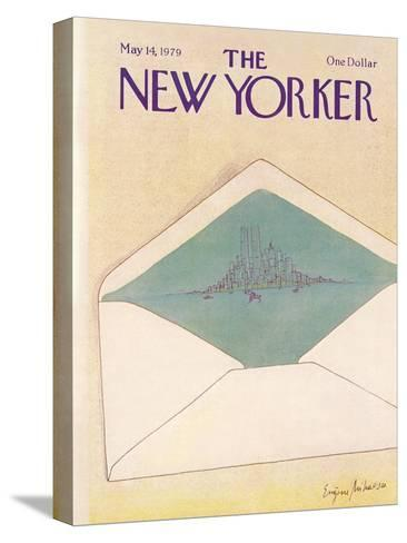 The New Yorker Cover - May 14, 1979-Eug?ne Mihaesco-Stretched Canvas Print