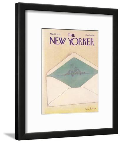 The New Yorker Cover - May 14, 1979-Eug?ne Mihaesco-Framed Art Print