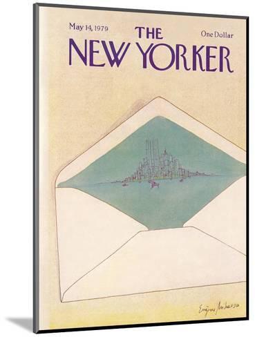 The New Yorker Cover - May 14, 1979-Eug?ne Mihaesco-Mounted Premium Giclee Print