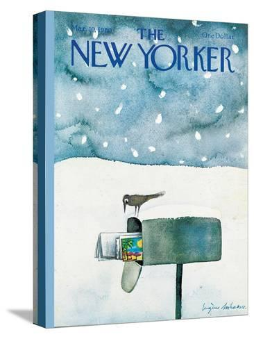 The New Yorker Cover - March 10, 1980-Eug?ne Mihaesco-Stretched Canvas Print