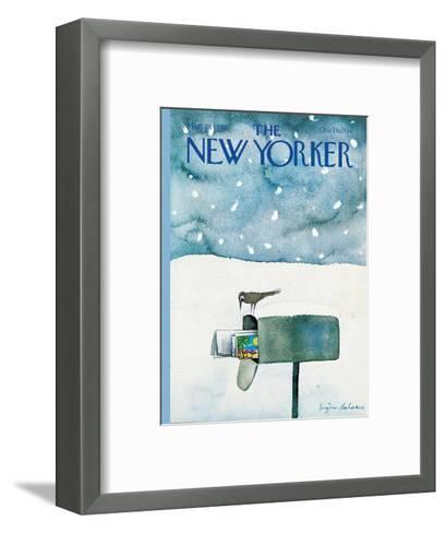 The New Yorker Cover - March 10, 1980-Eug?ne Mihaesco-Framed Art Print