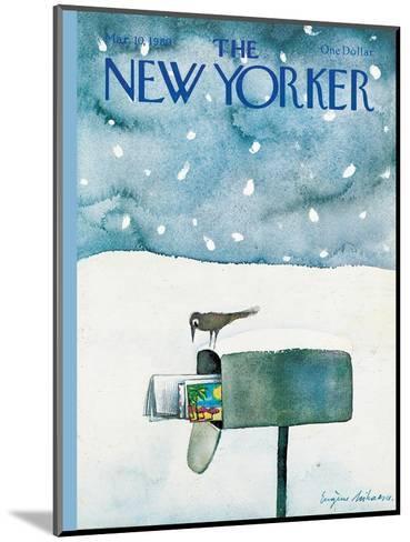 The New Yorker Cover - March 10, 1980-Eug?ne Mihaesco-Mounted Premium Giclee Print