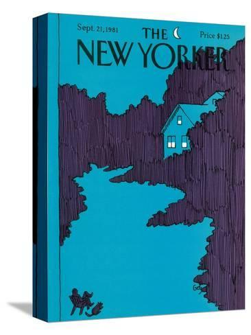 The New Yorker Cover - September 21, 1981-Arthur Getz-Stretched Canvas Print