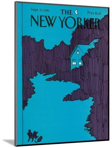 The New Yorker Cover - September 21, 1981-Arthur Getz-Mounted Premium Giclee Print