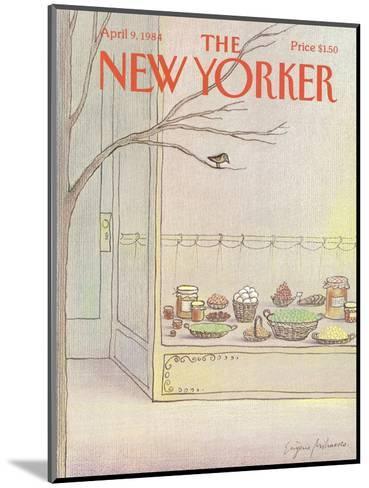 The New Yorker Cover - April 9, 1984-Eug?ne Mihaesco-Mounted Premium Giclee Print