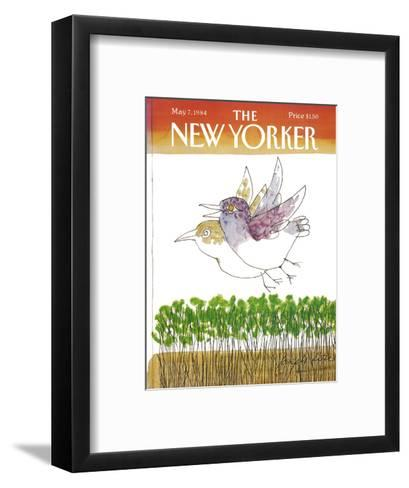 The New Yorker Cover - May 7, 1984-Joseph Low-Framed Art Print