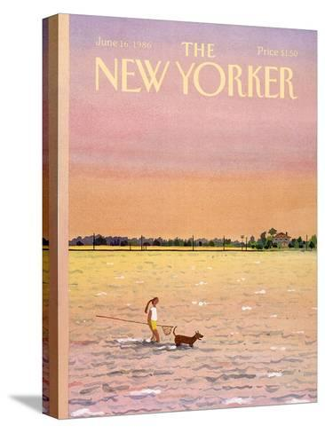 The New Yorker Cover - June 16, 1986-Susan Davis-Stretched Canvas Print