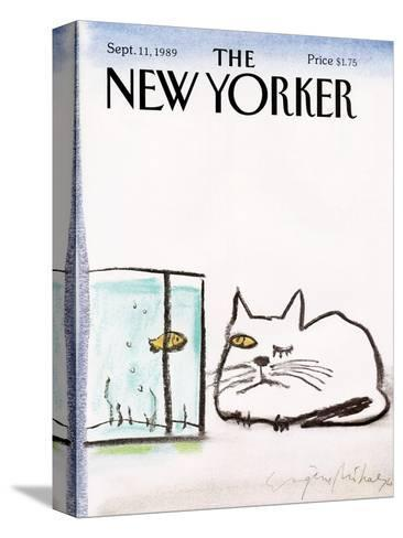 The New Yorker Cover - September 11, 1989-Eug?ne Mihaesco-Stretched Canvas Print