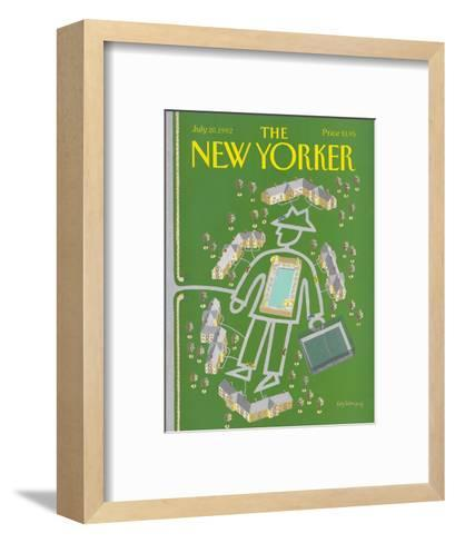 The New Yorker Cover - July 20, 1992-Kathy Osborn-Framed Art Print