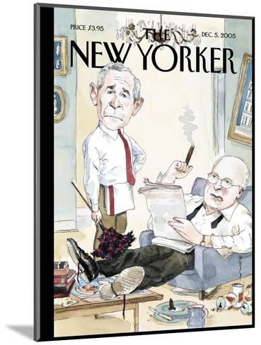 The New Yorker Cover - December 5, 2005-Barry Blitt-Mounted Premium Giclee Print