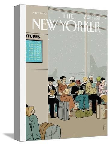 The New Yorker Cover - December 26, 2005-Adrian Tomine-Stretched Canvas Print