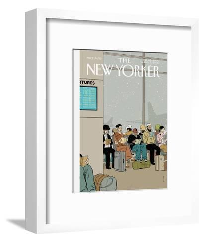 The New Yorker Cover - December 26, 2005-Adrian Tomine-Framed Art Print