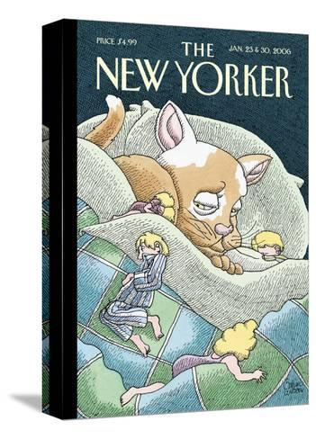 The New Yorker Cover - January 23, 2006-Gahan Wilson-Stretched Canvas Print