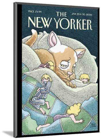 The New Yorker Cover - January 23, 2006-Gahan Wilson-Mounted Premium Giclee Print