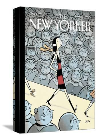 The New Yorker Cover - March 20, 2006-Seth-Stretched Canvas Print