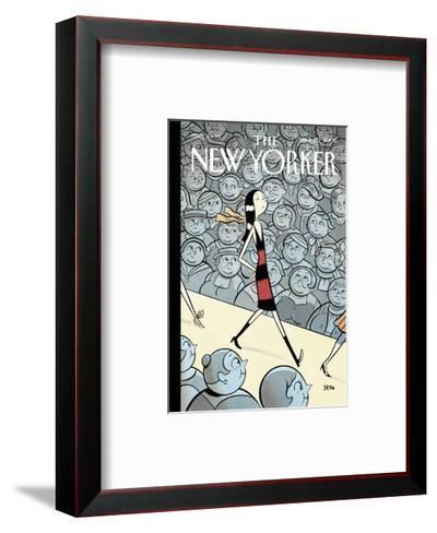 The New Yorker Cover - March 20, 2006-Seth-Framed Art Print