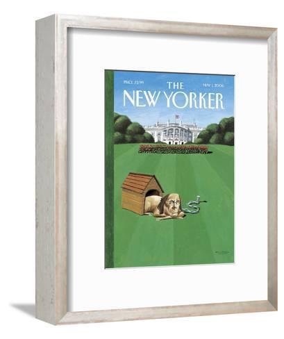 The New Yorker Cover - May 1, 2006-Mark Ulriksen-Framed Art Print