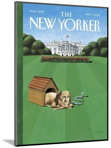 The New Yorker Cover - May 1, 2006-Mark Ulriksen-Mounted Premium Giclee Print