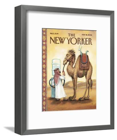 The New Yorker Cover - May 22, 2006-Anita Kunz-Framed Art Print