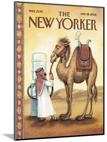 The New Yorker Cover - May 22, 2006-Anita Kunz-Mounted Premium Giclee Print