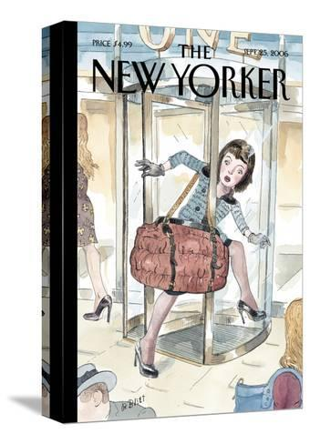 The New Yorker Cover - September 25, 2006-Barry Blitt-Stretched Canvas Print