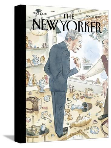 The New Yorker Cover - November 13, 2006-Barry Blitt-Stretched Canvas Print